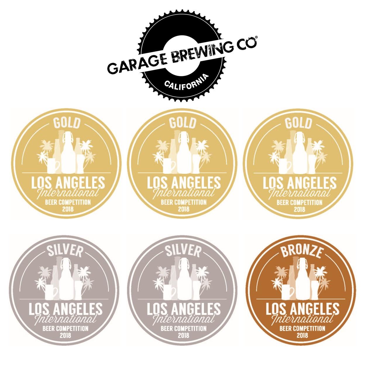 LA Beer Medals